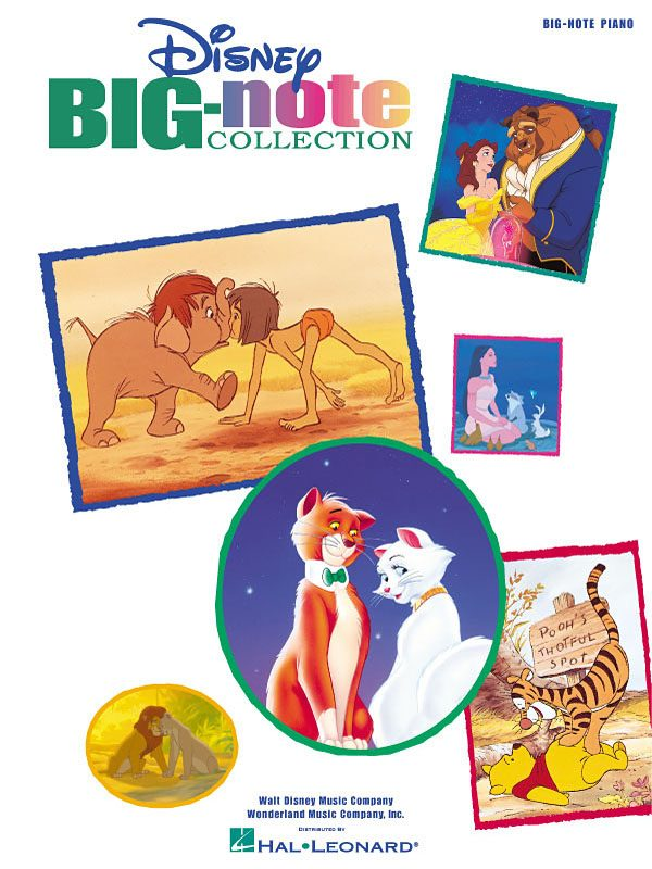 Disney Big Note Collection Piano