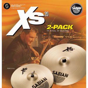 Sabian XS20 2 Pack