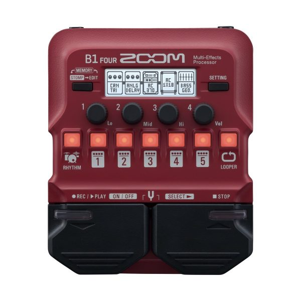 Zoom B1 FOUR Bass Multi Effects Pedal