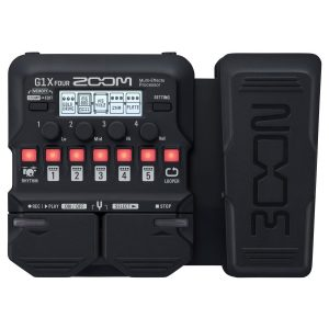 Zoom G1X FOUR Multi Effects Pedal with Expression Pedal