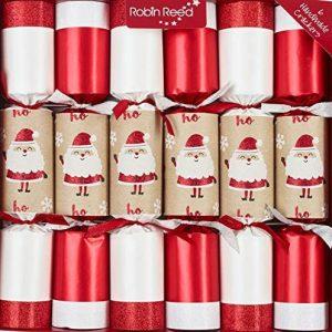 Robin Reed Racing Santa Christmas Crackers