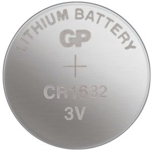 GP CR1632 Lithium Button Cell Battery