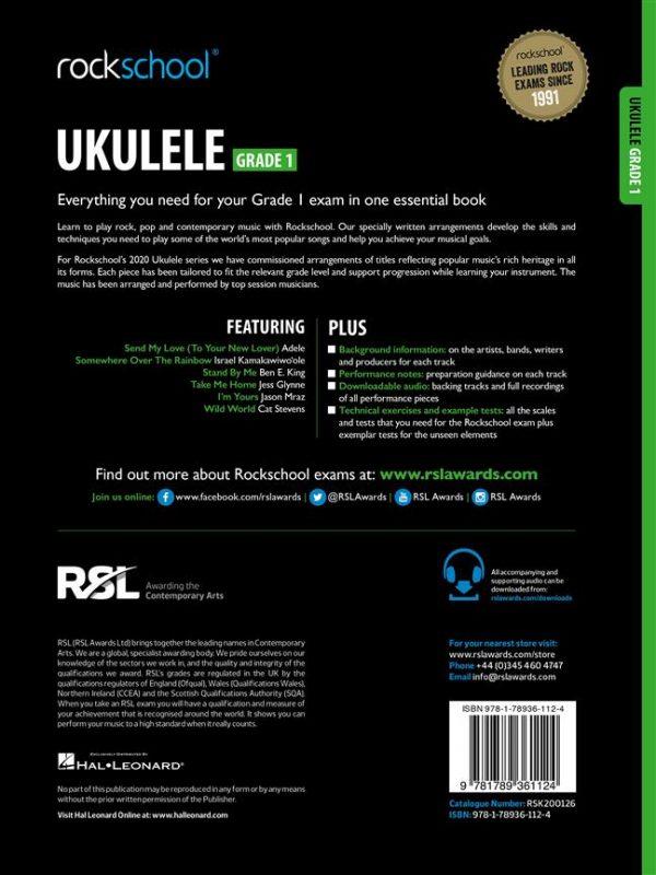 Rockschool Ukulele Grade 1 (2020)