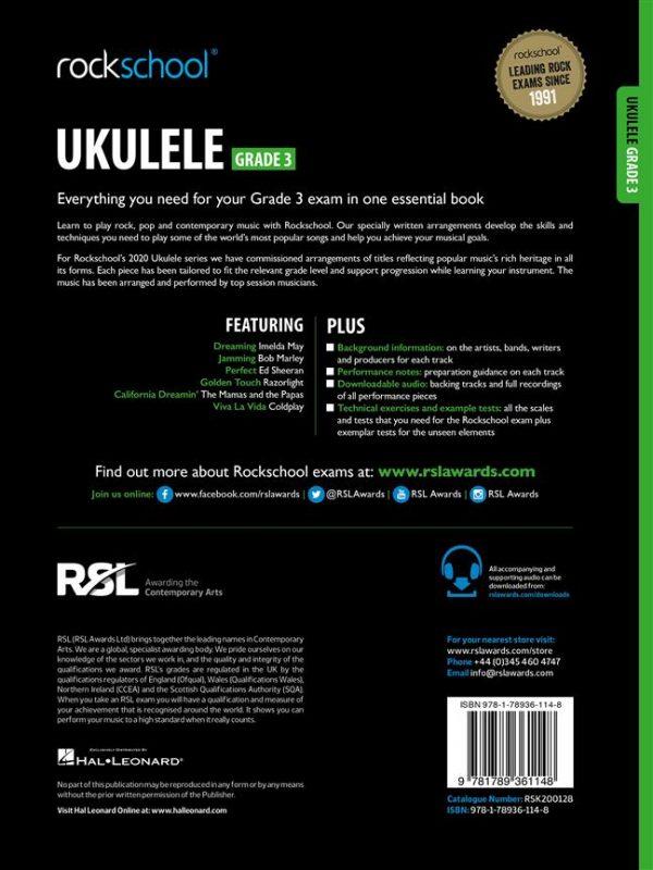Rockschool Ukulele Grade 3 (2020)