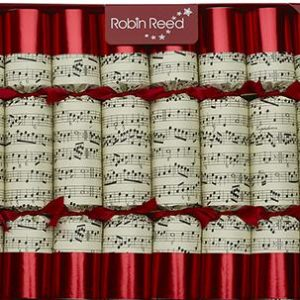 Robin Reed Christmas Crackers 8 Whistles