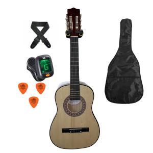Trax 1/2 Size Junior Classical Guitar Pack Natural