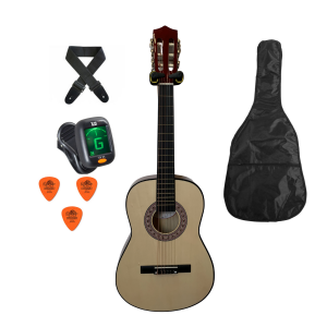 Trax 3/4 Size Classical Guitar Pack Natural