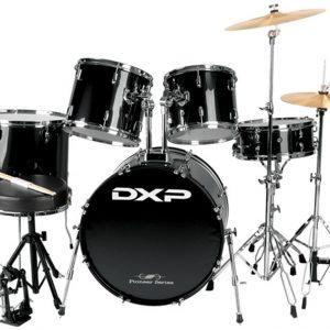 DXP P525T Star 5 Piece Drum Kit Black