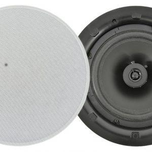 Adastra 2 Way Low Profile 100V Line Ceiling Speaker