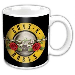 Guns N Roses Boxed Standard Mug Bullet