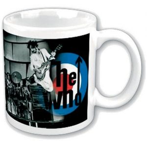 The Who Boxed Standard Mug On Stage