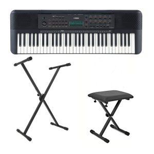 Yamaha PSR E273 Portable Keyboard Bundle