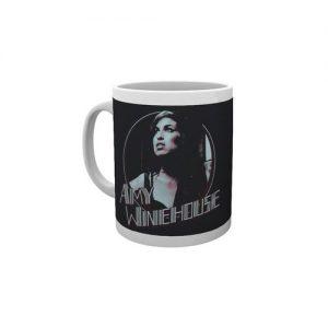 Amy Winehouse Boxed Standard Mug Retro Badge