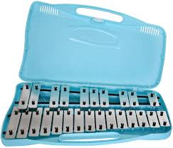 Angel AG25 25 Note Glockenspiel Blue