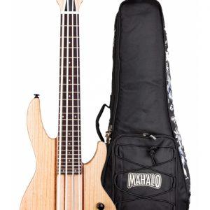 Mahalo MEB1 Electric Bass Ukulele Swamp Ash
