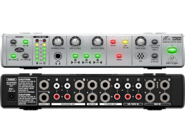 Behringer MON800 MINIMON Stereo Monitor Mixer