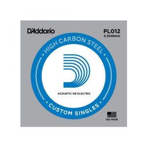 Daddario PL012 Single Plain Steel .012