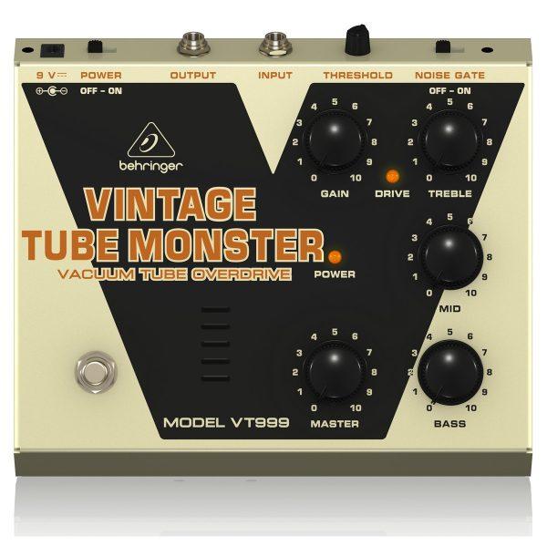 Behringer VT999 Vintage Tube Monster Effects Pedal