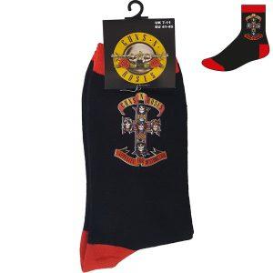 Guns N' Roses Unisex Socks Appetite Cross UK Size 7-11