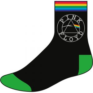 Pink Floyd Unisex Socks Circle Logo UK Size 7-11
