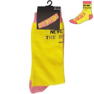 The Sex Pistols Unisex Socks Never Mind the Bollocks UK Size 7-11
