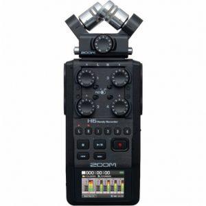 Zoom H6 6 Track Recorder Black