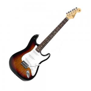 SX SE1 Strat Style Guitar 3 Tone Sunburst