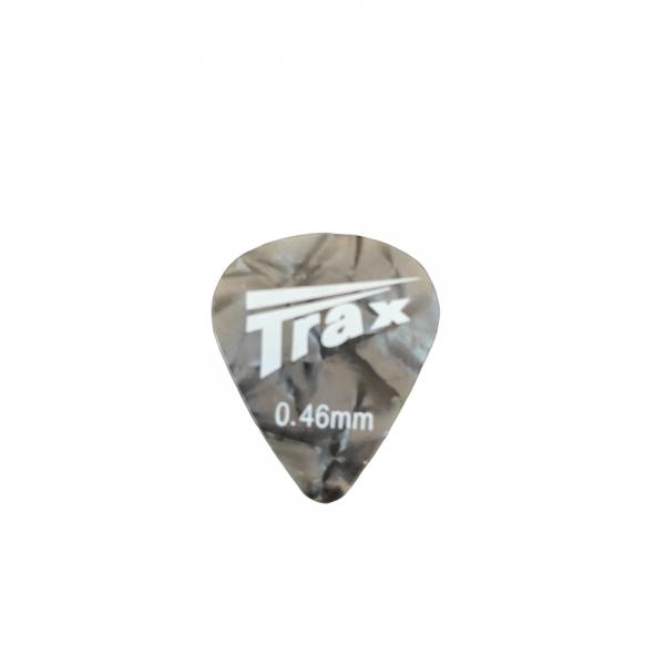Trax Celluloid Plectrum Light 46mm Grey