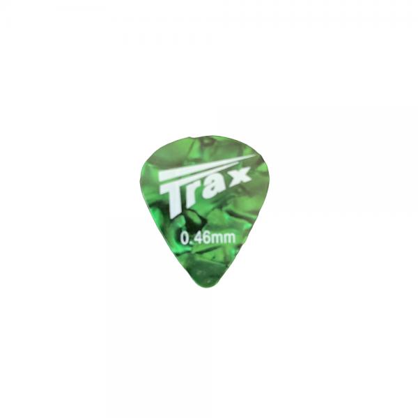 Trax Celluloid Plectrum Light 46mm Green