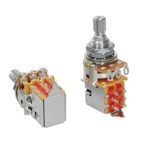 Alpha ALPP250-A50 Push Pull 250K Audio Potentiometer
