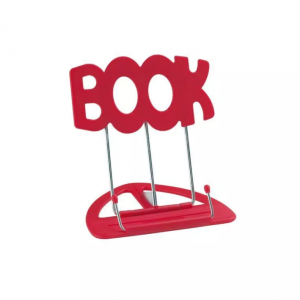 K&M 12440 UniBoy Book Music Stand Red