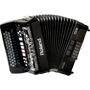 Roland FR18 Diatonic V-Accordion Black