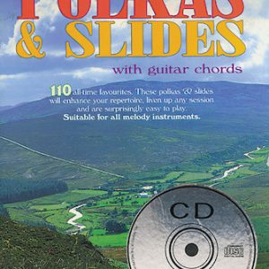 110 Irelands Best Polkas & Slides Book & CD