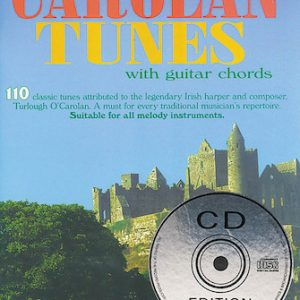 110 Irelands Best Carolan Tunes Book & CD