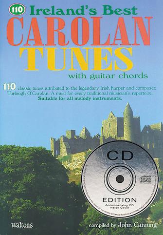 110 Irelands Best Carolan Tunes Book & CD