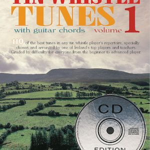 110 Irelands Best Tin Whistle Tunes Volume 1 Book & CD