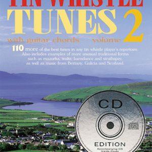 110 Irelands Best Tin Whistle Tunes Volume 2 Book & CD