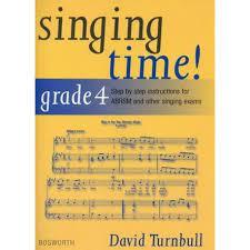 Singing Time Grade 4