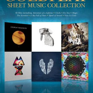 Coldplay Sheet Music Collection Piano Vocal Guitar