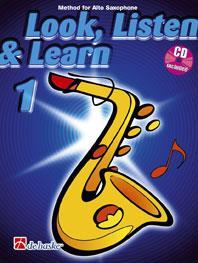 Look Listen & Learn 1 Alto Saxophone