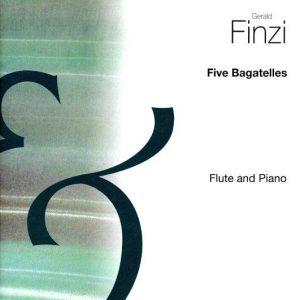 Gerald Finzi Five Bagatelles Flute & Piano