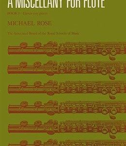 A Miscellany For Flute Book 1