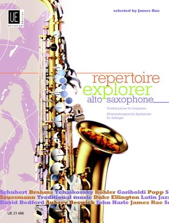 Repertoire Explorer Graded Pieces Alto Saxophone