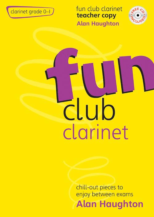 Fun Club Clarinet Grade 0-1 Teacher Copy