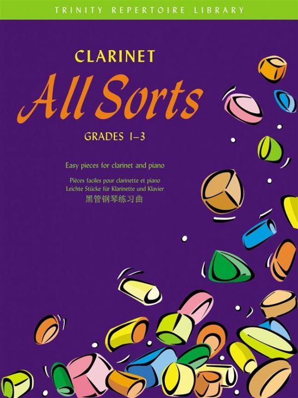 Clarinet All Sorts Grade 1-3