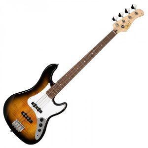 Cort GB24 JJ 2 Tone Burst Bass Guitar