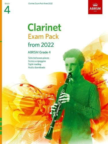 ABRSM Clarinet Exam Pack From 2022 Grade 4