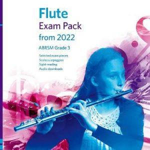 ABRSM Flute Exam Pack From 2022 Grade 3