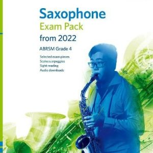 ABRSM Saxophone Exam Pack From 2022 Grade 4
