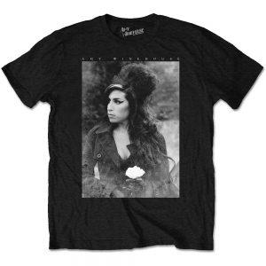 Amy Winehouse Unisex T Shirt Flower Portrait XX Large